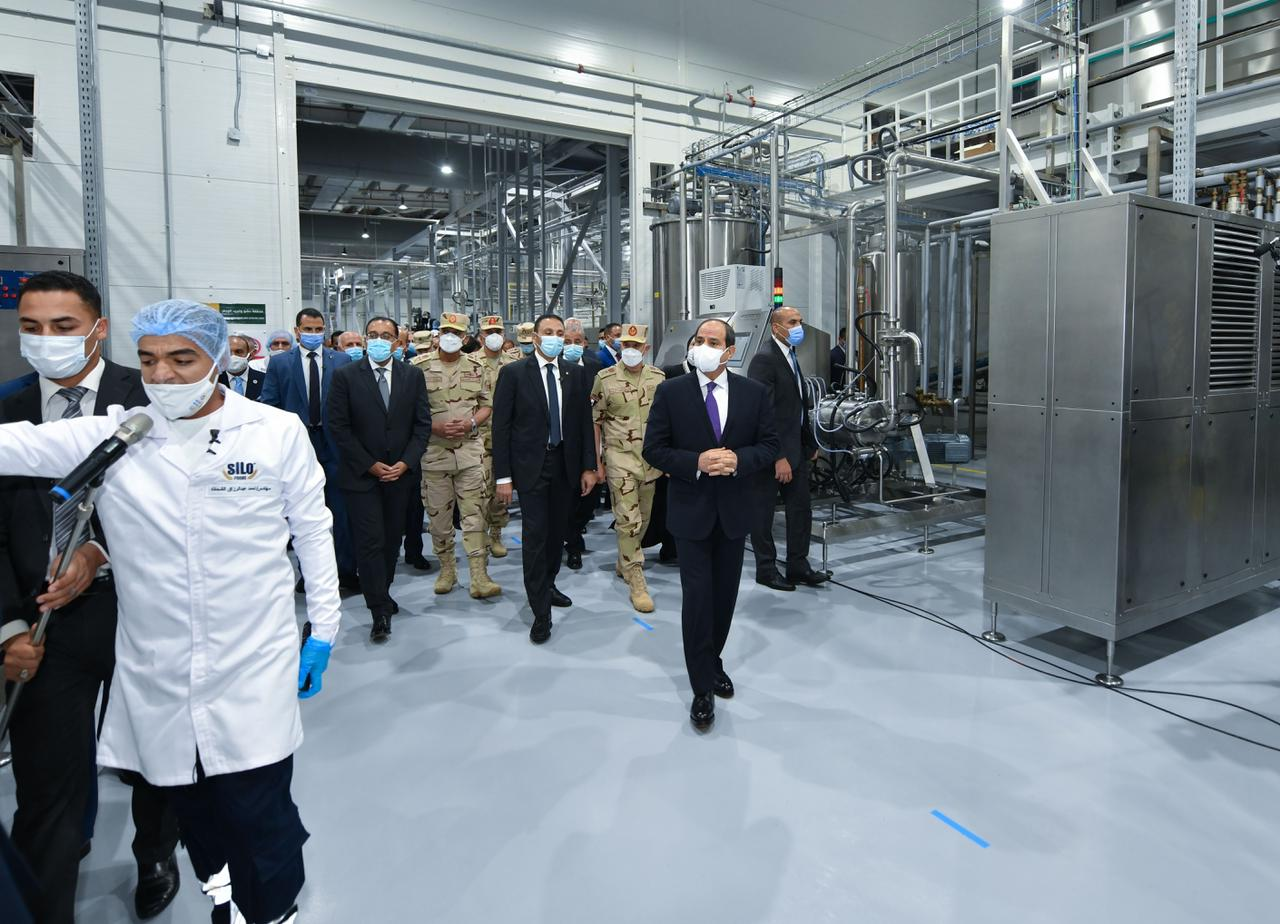 افتتاح الرئيس المدينة الصناعية الغذائية سايلو فودز10