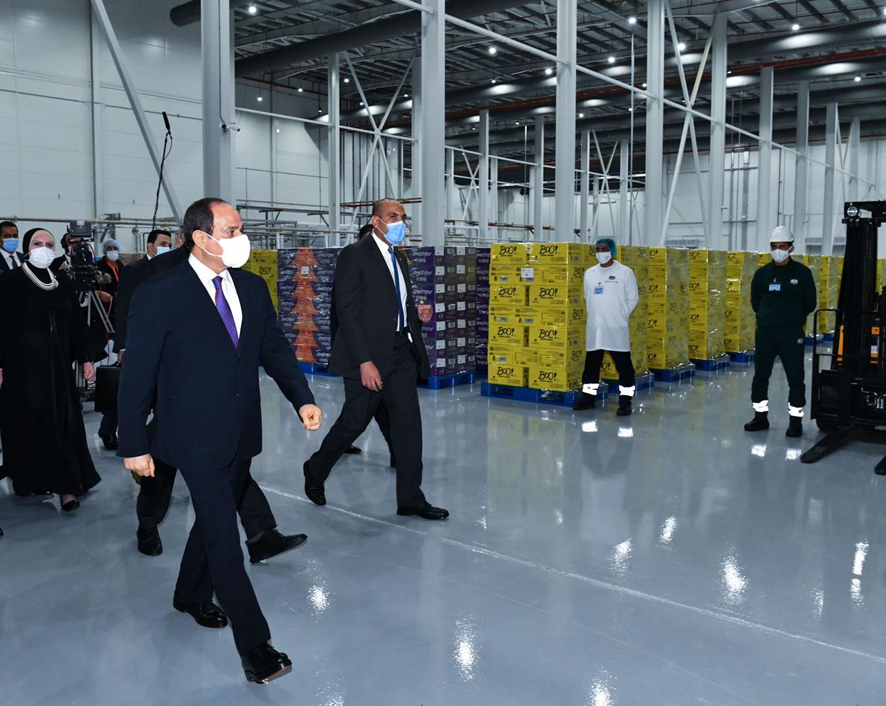 افتتاح الرئيس المدينة الصناعية الغذائية سايلو فودز15