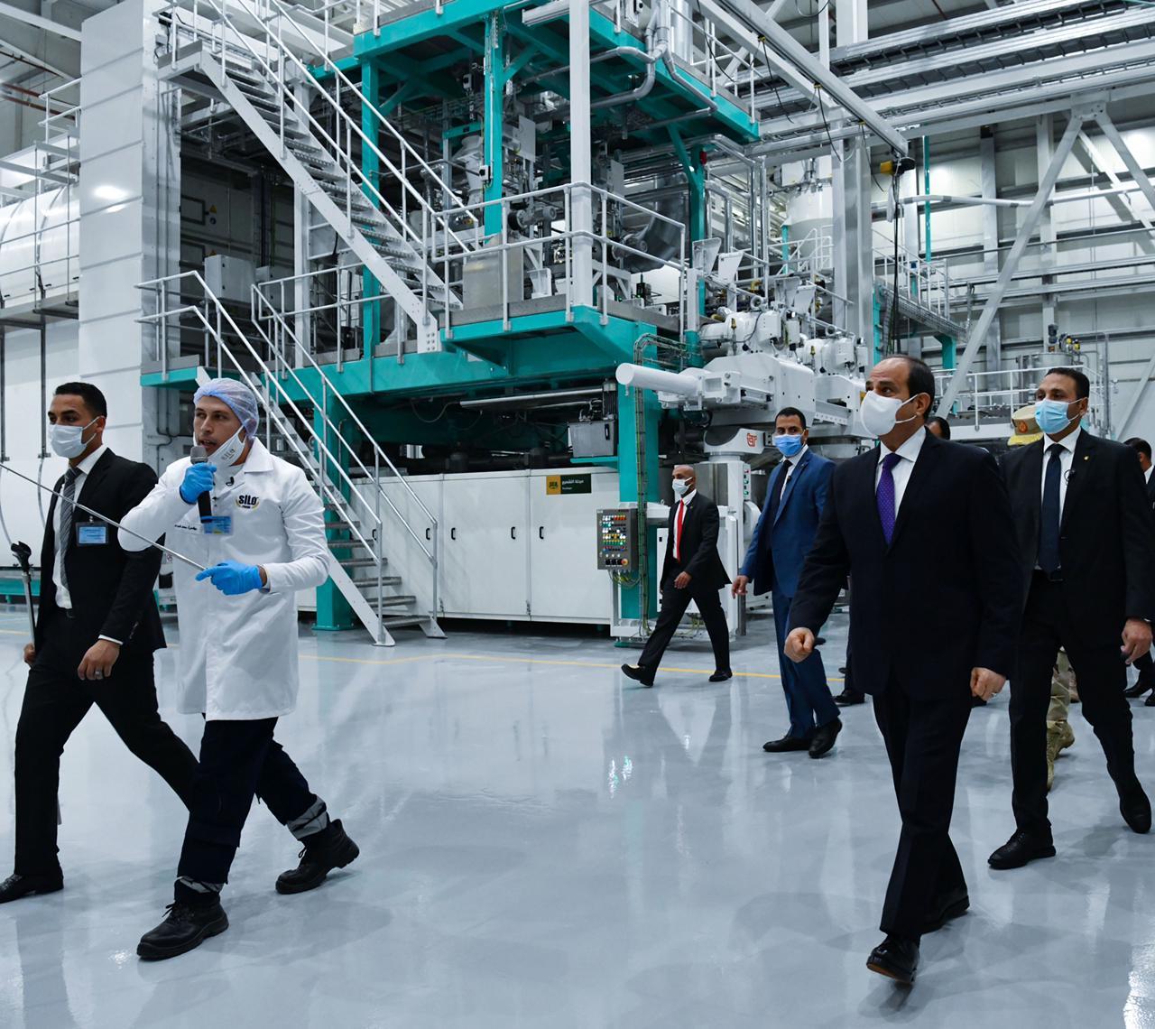 افتتاح الرئيس المدينة الصناعية الغذائية سايلو فودز16