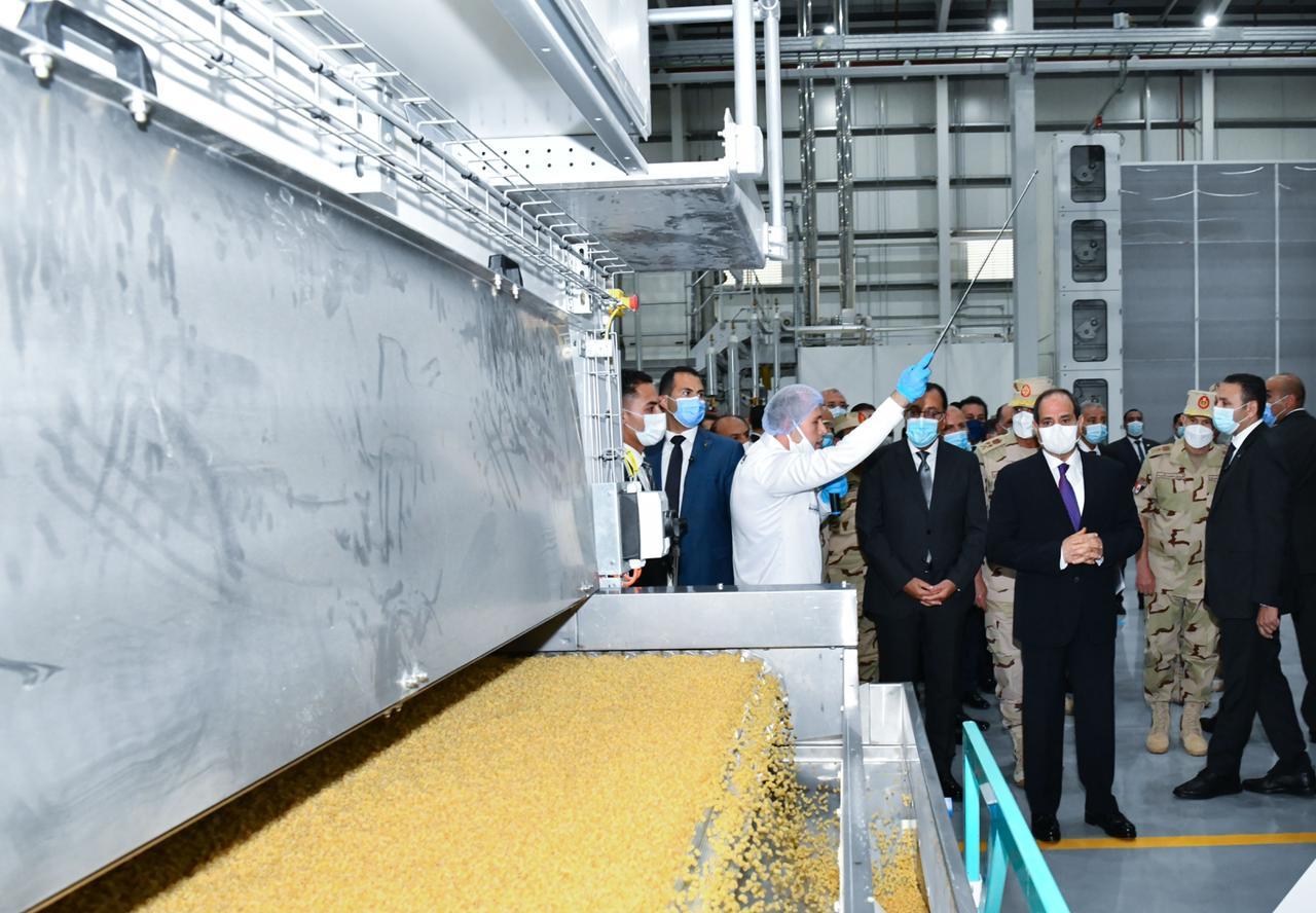 افتتاح الرئيس المدينة الصناعية الغذائية سايلو فودز18